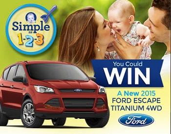 Gerber Cereal's 1-2-3 Sweepstakes 2015