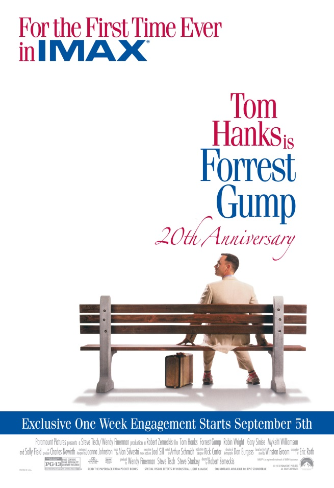 Paramount Home Entertainment's Forrest Gump 20th Anniversary Sweepstakes