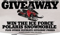 Rapala USA's Ultimate Ice Force Giveaway Sweepstakes
