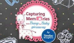 Similac's Capturing Memories from Bump to Baby Giveaway