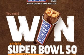 Snickers' 2015 Super Bowl Satisfaction Sweepstakes