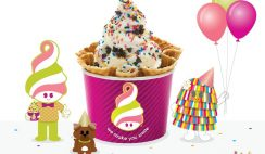 Free Yogurt from Menchies