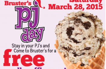 Free Small Waffle Cone from Bruster's
