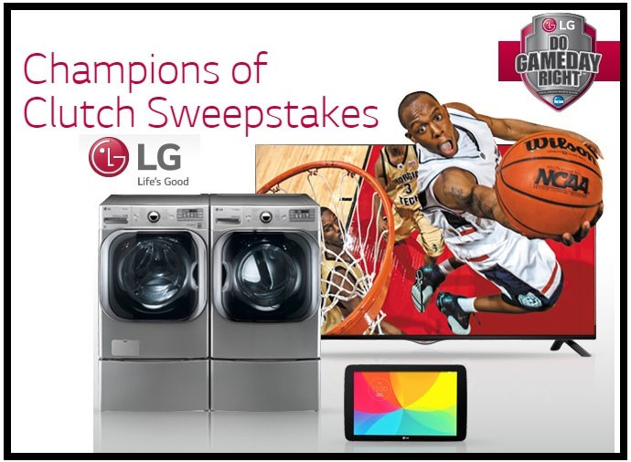 LG's Electronics Champions of Clutch Sweepstakes