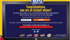 Mars' Big Night in Sweepstakes
