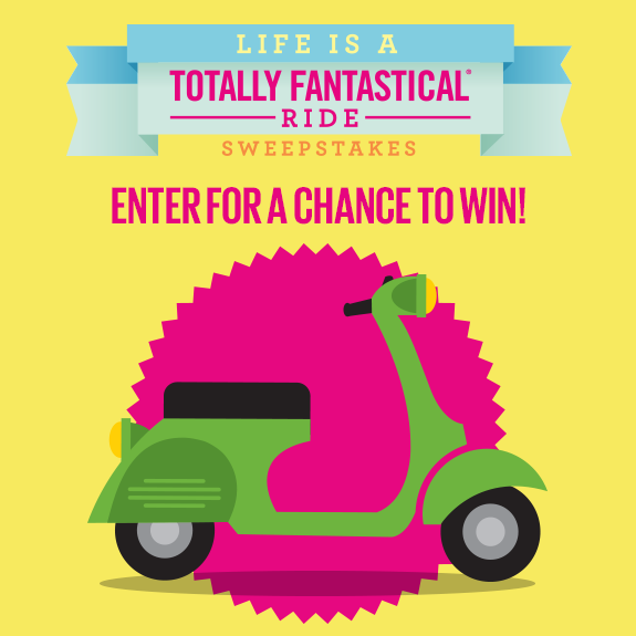 Angie's Popcorn's Totally Fantastical Ride Sweepstakes