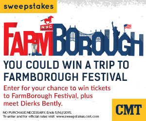 FarmBorough Festival Getaway Sweepstakes