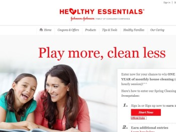 Healthy Essentials' Spring Cleaning Sweepstakes