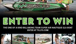 Tilly's x Billabong x Nautique's Team Boat Sweepstakes