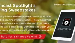 Comcast Spotlight's Spring Sweepstakes