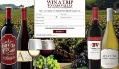 Diageo Chateau and Estate Wines' Napa Valley Getaway Sweepstakes