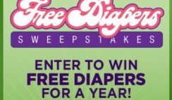 Everyday Family's Free Diapers for a Year Sweepstakes