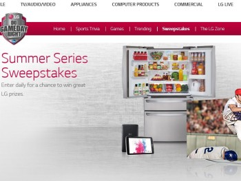 LG's Summer Series Sweepstakes