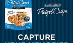 Pretsel Crisps' Capture Your Memories Sweepstakes
