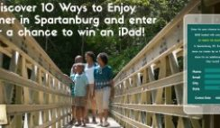 Spartanburg CVB's iPad Sweepstakes