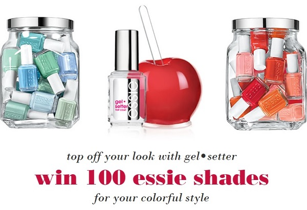 Essie's Gel Setter Sweepstakes