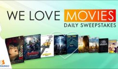 Fandango's We Love Movies Summer Sweepstakes