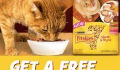 Free Friskies 7 Cat Food Sample