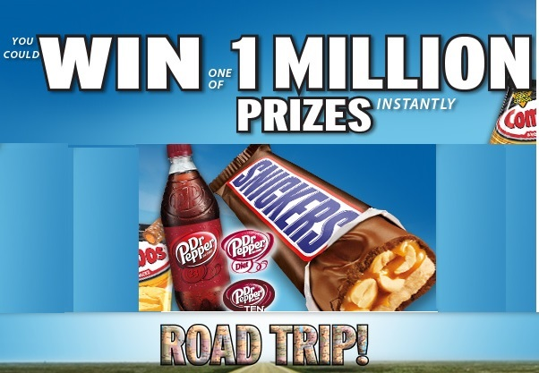 Mars' Road Trip Instant-Win Sweepstakes