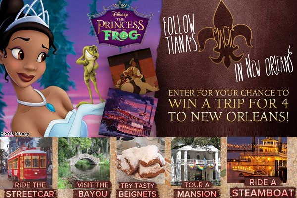 New Orleans Online's Follow Her Magic Sweepstakes