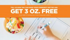 Free 3oz. Froyo from Orange Leaf Yogurt