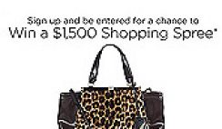 Saks Fifth Avenue's Win a $1,500 Shopping Spree Sweepstakes