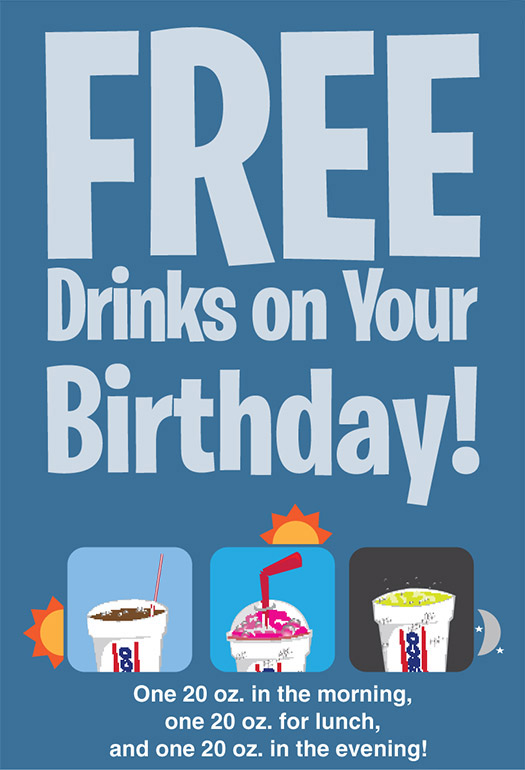 Free Drink on Your Birthday from Wesco