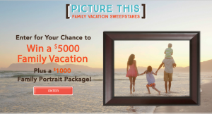 Picture People's Picture This Family Vacation Sweepstakes