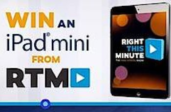 Right This Minute's iPad Mini Sweepstakes