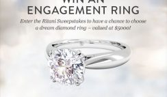 Ritani's Engagement Ring Sweepstakes