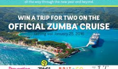 Rodale's Prevention Zumba Cruise Sweepstakes