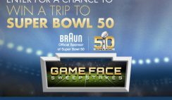 Bed Bath and Beyond's Braun Game Face Sweepstakes
