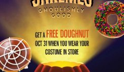 Free Krispy Kreme Doughnut on Oct. 31
