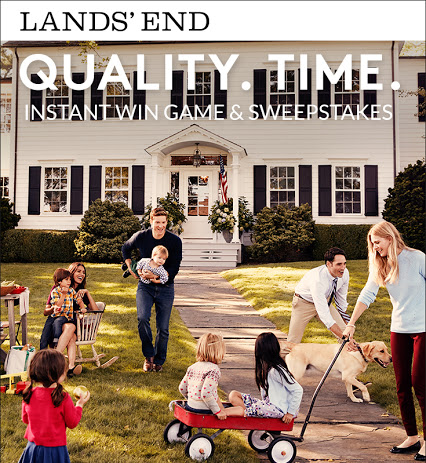Lands' End's Quality Time Sweepstakes