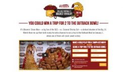 Outback's College Football's Boldest Rivalry Sweepstakes