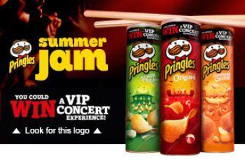 Pringles' Summer Music Instant Win Game