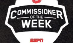 ESPN's Pizza Hut Commissioner of the Week Contest