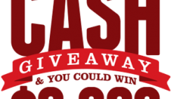Lee's Famous Recipe Chicken's Christmas Cash Giveaway
