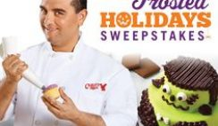 Cake Boss Baking's 2015 Frosted Holidays Sweepstakes