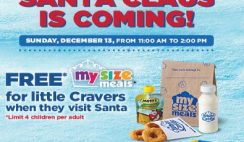 Free White Castle My Size Meal for Kids on Dec. 13