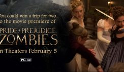 Marie Claire's Prejudice and Zombies Sweepstakes