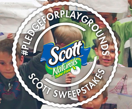Scott Naturals' Tube-Free Pledge for Playgrounds Sweepstakes