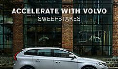 Sears Shop Your Way's Accelerate with Volvo Sweepstakes
