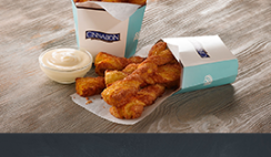 Free Cinnabon Stix Topped with Ghirardelli Chocolate Sample