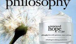 Free Philosophy Renewed Hope in a Jar Anti-Aging Moisturizer Sample
