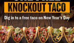 Free Taco from Qdoba on New Years
