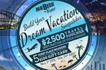 Mr. Beer's Build Your Dream Vacation Sweepstakes