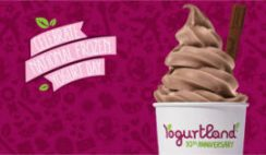 Free Froyo from Yogurtland on Feb 8