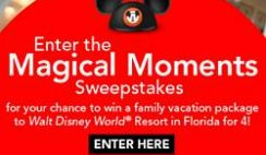Parents.com's Magical Moments Sweepstakes