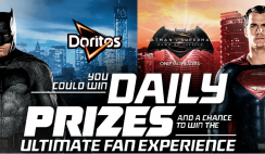 Doritos' Batman v Superman Instant-Win Game and Sweepstakes
